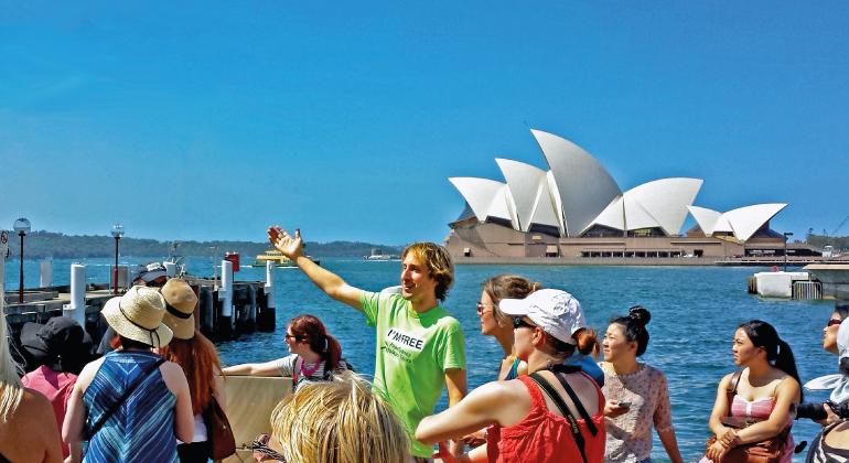 sydney tour package singapore