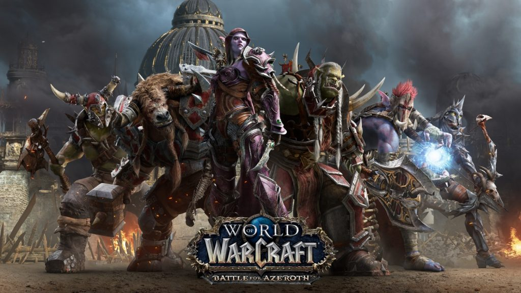 playing free warcraft game